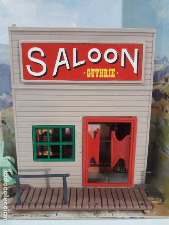 Figuras de Goma y PVC: SALOON . JECSARAMAS DEL OESTE - REF 207 . REALIZADA POR JECSAN . AÑOS 60 / 70 - Foto 10 - 137215618