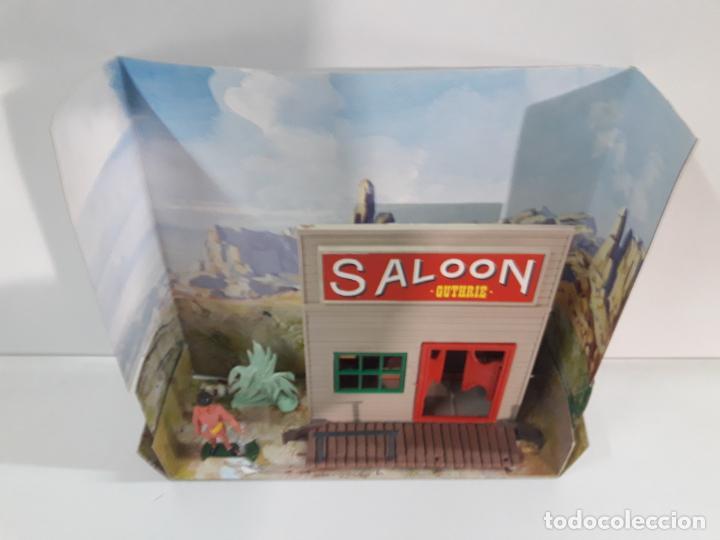 Figuras de Goma y PVC: SALOON . JECSARAMAS DEL OESTE - REF 207 . REALIZADA POR JECSAN . AÑOS 60 / 70 - Foto 11 - 137215618