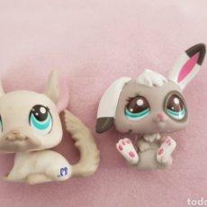 Figuras de Goma y PVC: LOTE 2 LITTLEST PET SHOP ORIGINALES LPS. Lote 137218060