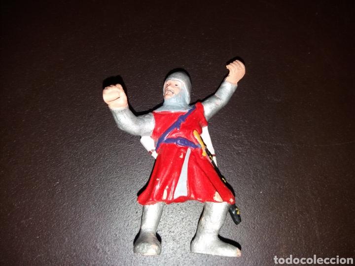 GUERRERO DE BULLYLAND. (Juguetes - Figuras de Goma y Pvc - Bully)