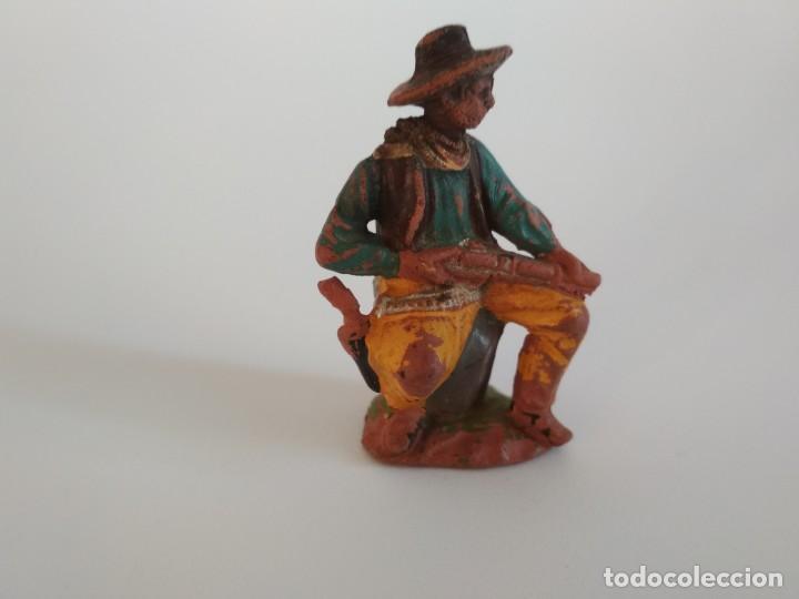 FIGURA VAQUERO EN GOMA REAMSA (Juguetes - Figuras de Goma y Pvc - Reamsa y Gomarsa)