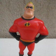 Figuras de Goma y PVC: BOB PARR - PERSONAJE DE LOS INCREÍBLES - FIGURA DE PVC - DISNEY - PIXAR - BULLYLAND.. Lote 137333402