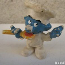 Figuras de Goma y PVC: PITUFO COCINERO - FIGURA DE PVC.. Lote 137334774