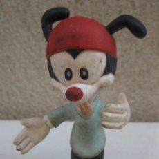 Figuras de Goma y PVC: WAKKO WARNER - LOS HERMANOS WARNER - ANIMANIACS - ANIMANÍA - FIGURA DE GOMA.. Lote 137336338