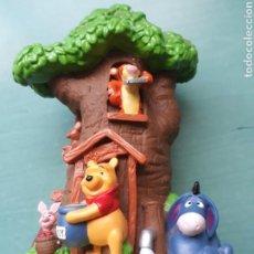 Figuras de Goma y PVC: HUCHA LA CASA DE WINNIE DE POOH BULLYLAND. Lote 137410385