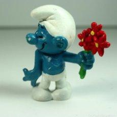 Figuras de Goma y PVC: FIGURA DE GOMA Y PVC - PITUFO PITUFOS PEYO . Lote 137546190