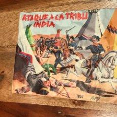 Figuras de Goma y PVC: ATAQUE A LA TRIBU INDIA MONTAPLEX (COMPLETO, NUNCA ABIERTO). Lote 137566001