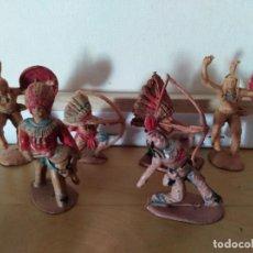 Figuras de Goma y PVC: FIGURA PVC REAMSA LAFREDO JECSAN OESTE INDIOS Y VAQUEROS . Lote 137609466