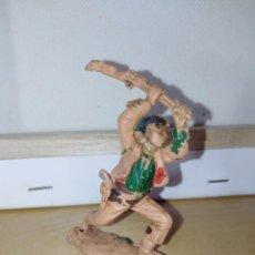 Figuras de Goma y PVC: FIGURA PVC REAMSA LAFREDO JECSAN OESTE INDIOS Y VAQUEROS . Lote 137609562