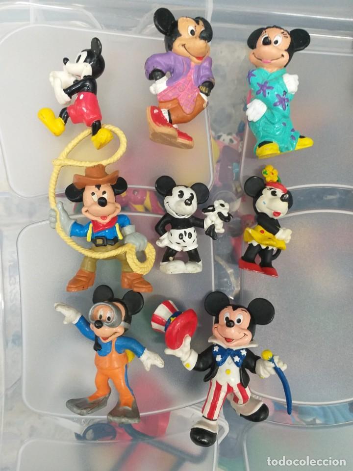 LOTE 8 FIGURAS PVC BULLYLAND MICKEY MINNIE MOUSE (Juguetes - Figuras de Goma y Pvc - Bully)