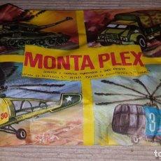 Figuras de Goma y PVC: MONTAPLEX. Lote 137657294