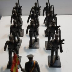 Figuras de Goma y PVC: REAMSA GOMARSA MILITARES AIRE LOTE 12 UNIDADES. Lote 137666177