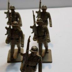 Figuras de Goma y PVC: MILITARES DE REAMSA GOMARSA LOTE 5 EJÉRCITO TIERRA. Lote 137666356