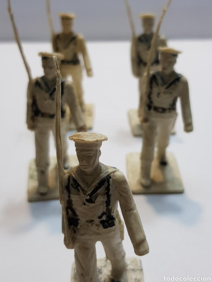 Figuras de Goma y PVC: Reamsa Gomarsa lote 5 militares ejército la Marina - Foto 2 - 137666489