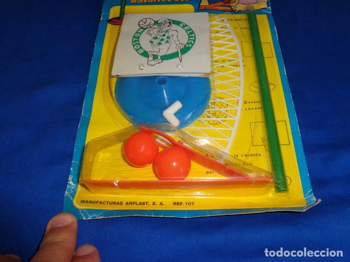 Figuras de Goma y PVC: MINI BALONCESTO DE PLASTICO AÑOS 70, BOSTON CELTICS A ESTRENAR VER FOTOS Y DESCRIPCION! SM - Foto 2 - 137666686