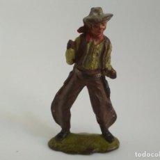 Figuras de Goma y PVC: FIGURA VAQUERO REAMSA GOMA. Lote 137724598