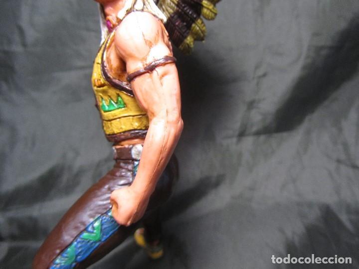 Figuras de Goma y PVC: JEFE INDIO GRANDE COMANSI SIN CABALLO - Foto 8 - 137724682