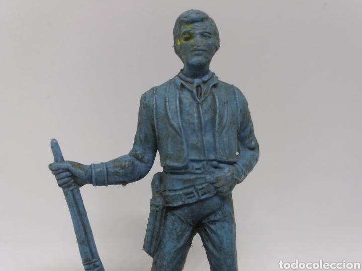 Figuras de Goma y PVC: Antigua Figura del Oeste Comansi. BEN CARTWRIGHT. Bonanza. - Foto 3 - 137768370