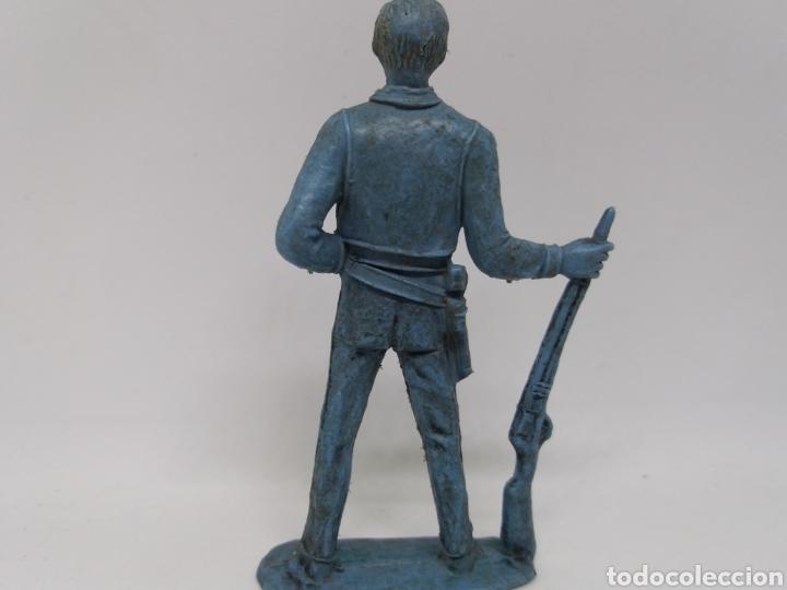 Figuras de Goma y PVC: Antigua Figura del Oeste Comansi. BEN CARTWRIGHT. Bonanza. - Foto 4 - 137768370