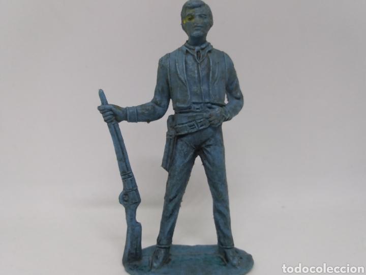 Figuras de Goma y PVC: Antigua Figura del Oeste Comansi. BEN CARTWRIGHT. Bonanza. - Foto 2 - 137768370