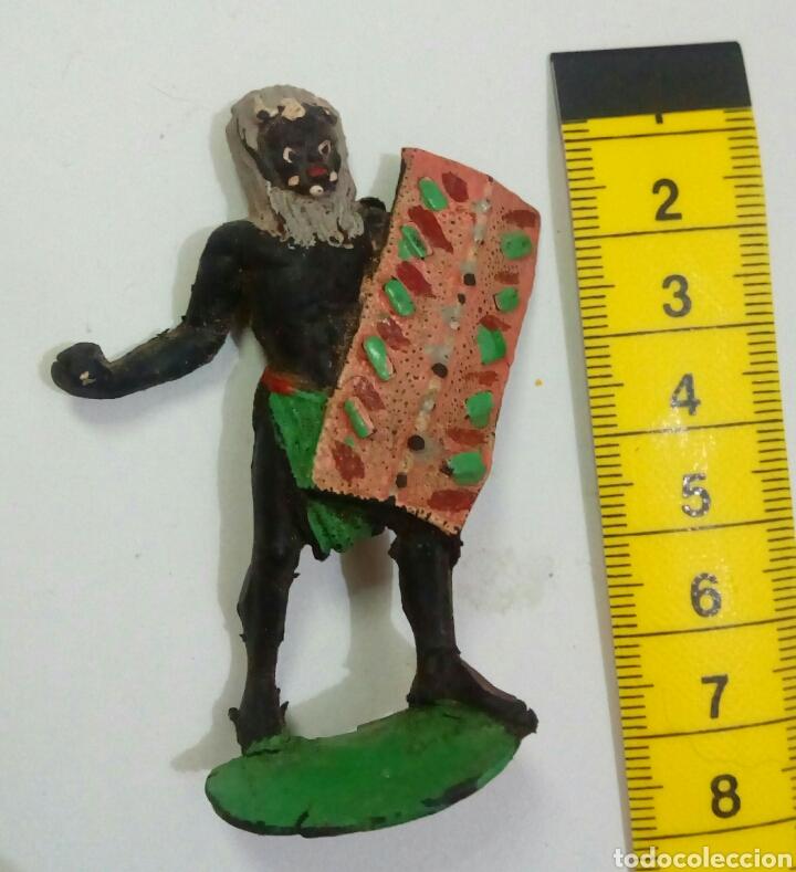 AFRICANO ARCLA DE GOMA (Juguetes - Figuras de Goma y Pvc - Arcla)