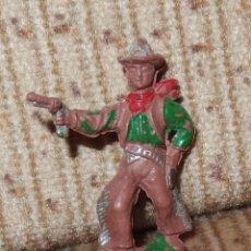 Figuras de Goma y PVC: VAQUERO,CAPELL,GOMA,SERIE PEQUEÑA,AÑOS 50. Lote 137839702