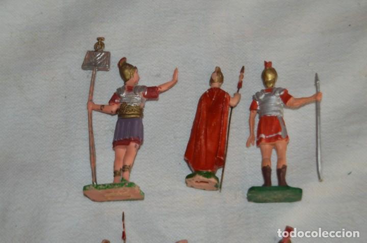 Figuras de Goma y PVC: VINTAGE - LOTE DE 6 FIGURAS DE PLÁSTICO / PVC - REAMSA - FIGURAS BELÉN / ROMANOS - ENVÍO 24H - Foto 4 - 137851270