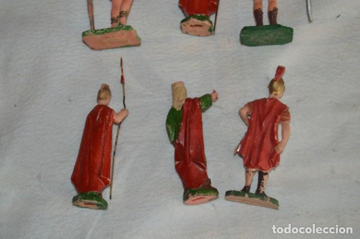 Figuras de Goma y PVC: VINTAGE - LOTE DE 6 FIGURAS DE PLÁSTICO / PVC - REAMSA - FIGURAS BELÉN / ROMANOS - ENVÍO 24H - Foto 5 - 137851270