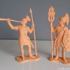 Figuras de Goma y PVC: BEN-HUR. LEGIONES ROMANAS DE REAMSA, LEGIONARIOS, REEDICIÓN EN PLÁSTICO MONOCOLOR.. Lote 137877345