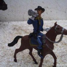 Figuras de Goma y PVC: SOLDADO CON CABALLO DE COMANSI. Lote 137907754
