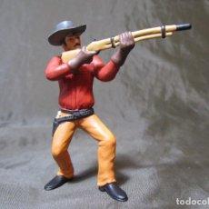 Figuras de Goma y PVC: VAQUERO CON RIFLE IV ÉPOCA COMANSI. Lote 138046726