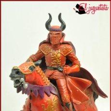 Figuras de Goma y PVC: FRA2 7 - PAPO 2004 - CABALLERO DEL MAL A CABALLO ROJO. Lote 138052446