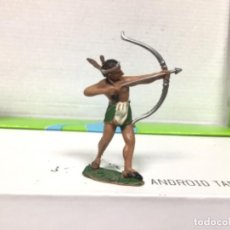 Figuras de Goma y PVC: FIGURA INDIO REAMSA OESTE WESTERN CAMPAMENTO INDIO DE REAMSA . Lote 138081606