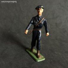 Figuras de Goma y PVC: MUÑECO FIGURA SOLDADO ALPINO FRANCES STARLUX ORIGINAL AÑOS 60. Lote 138098506