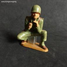 Figuras de Goma y PVC: MUÑECO FIGURA SOLDADO NORTEAMERICANO STARLUX ORIGINAL AÑOS 60 AMERICANO. Lote 138103374