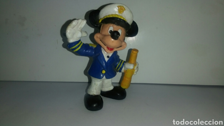 FIGURA PVC MICKEY MOUSE CAPITAN MARCA BULLYLAND (Juguetes - Figuras de Goma y Pvc - Bully)
