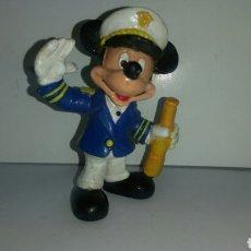 Figuras de Goma y PVC: FIGURA PVC MICKEY MOUSE CAPITAN MARCA BULLYLAND. Lote 138270706