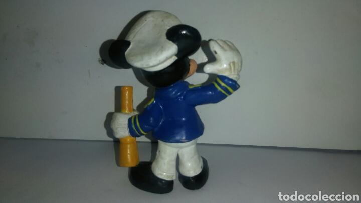 Figuras de Goma y PVC: FIGURA PVC MICKEY MOUSE CAPITAN MARCA BULLYLAND - Foto 2 - 138270706