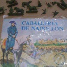 Figuras de Goma y PVC: MONTAPLEX - SOBRE ABIERTO CABALLERIA NAPOLEÓN Nº 141 --- REFGIMHAULEMOTRPAMHOR. Lote 138316970