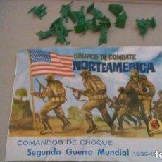 Figuras de Goma y PVC: MONTAPLEX - NORTEAMERICA - GRUPOS DE COMBATE --- REFGIMHAULEMOTRPAMHOR. Lote 138318318