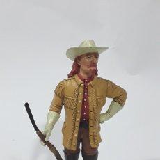 Figuras de Goma y PVC: BUFFALO BILL THE WILD WEST FIGURA PVC COMANSI WESTERN OESTE HÉROES WEST 1995 17 CM. Lote 138367658