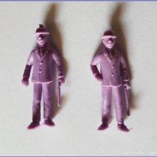 Gummi- und PVC-Figuren - TINTIN FIGURAS DUNKIN ORIGINAL TITO STENVAL HERNANDEZ Y FERNANDEZ - 138561178