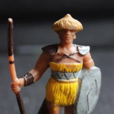 Figuras de Goma y PVC: GUERRERO BARBARO EN PVC DE JECSAN. Lote 138567550