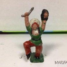 Figuras de Goma y PVC: FIGURA INDIO REAMSA OESTE WESTERN CAMPAMENTO INDIO TIPY. Lote 138631382