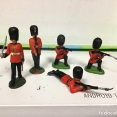 Figuras de Goma y PVC: FIGURA BRITAINS LTD DRAGON INGLES DRAGONES GUARDIA REAL BRITANICA LONDRES HERALD HIGHLANDERS. Lote 138633518
