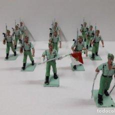 Figuras de Goma y PVC: LA LEGION - DESFILE . REALIZADO POR GOMARSA / SOLDIS . AÑOS 70. Lote 138656450