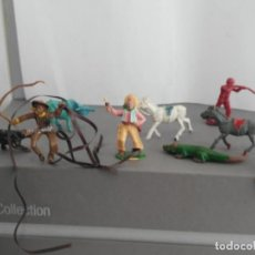 Figuras de Goma y PVC: LOTE DE FIGURAS DE JECSAN ANTIGUAS . Lote 138663090