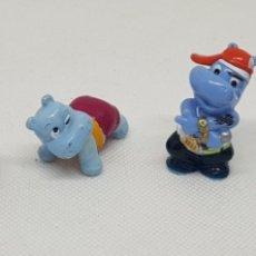 Figuras de Goma y PVC: LOTE FIGURAS HIPOPOTAMOS - CAR122. Lote 138716356