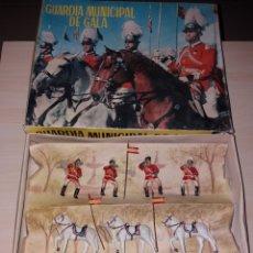 Figuras de Goma y PVC: ANTIGUA CAJA GUARDIA MUNICIPAL DE GALA - REAMSA. Lote 138720237