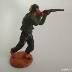 Figuras de Goma y PVC: INDIO EN GOMA AÑOS 50. Lote 138759014
